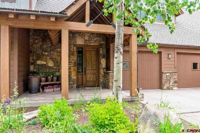 Durango Condo/Townhouse For Sale: 590 Glacier Club Drive #6