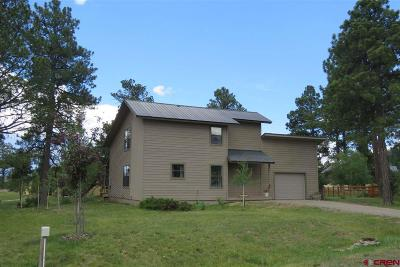 Pagosa Springs Single Family Home For Sale: 52 Corona Court