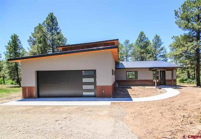 Pagosa Springs Single Family Home For Sale: 480 Twincreek Circle