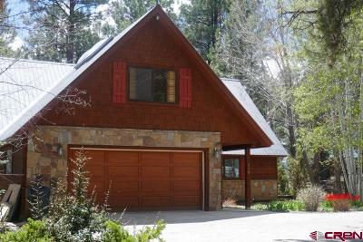 Pagosa Springs Single Family Home For Sale: 718 Cloud Cap Avenue