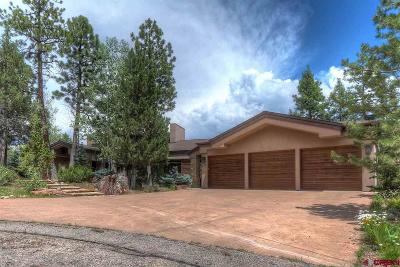 Durango CO Single Family Home For Sale: $2,890,000