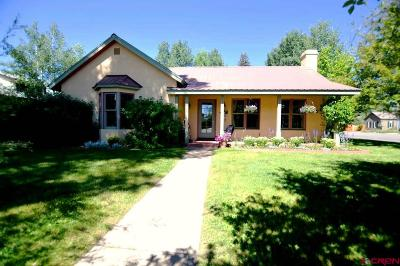 Gunnison Single Family Home UC/Contingent/Call LB: 321 N Colorado Street