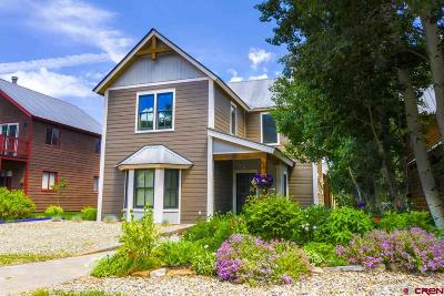 Crested Butte CO Single Family Home UC/Contingent/Call LB: $2,495,000