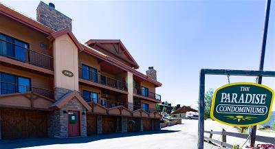 Mt. Crested Butte Condo/Townhouse For Sale: 20 Hunter Hill #101