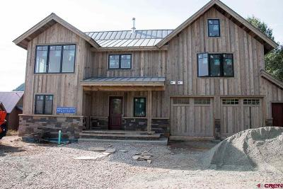 Crested Butte CO Single Family Home For Sale: $5,200,000