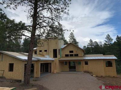 Durango Single Family Home For Sale: 233 Engine Creek Trail