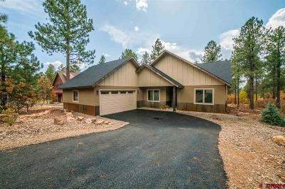 Durango Single Family Home NEW: 10 Red Table Court