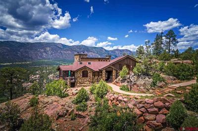 Durango CO Single Family Home For Sale: $2,490,000