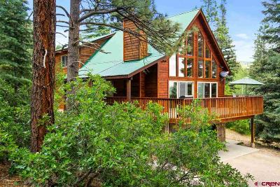 La Plata County Single Family Home Back on Market: 1445 Silver Mesa Driveway