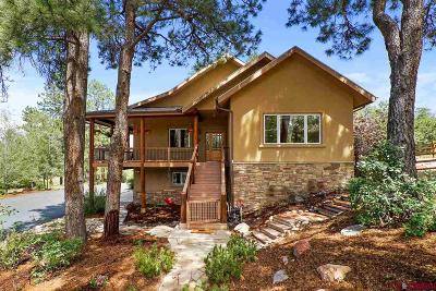 Durango CO Single Family Home For Sale: $817,500