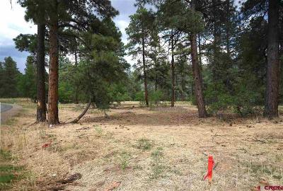 Durango Residential Lots & Land Back on Market: 343 Engine Creek Trail