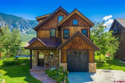Crested Butte CO Single Family Home For Sale: $885,000