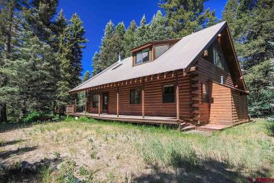 Pagosa Springs Single Family Home For Sale: 13751 County Rd 326