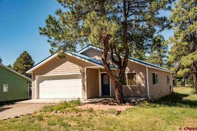 Pagosa Springs Single Family Home NEW: 56 Chipper Court