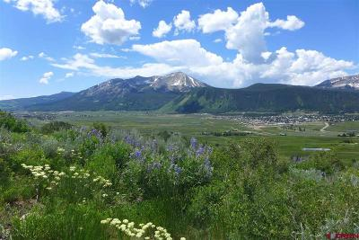 Mt. Crested Butte CO Residential Lots & Land For Sale: $335,000