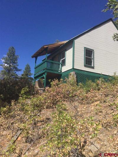 Pagosa Springs Single Family Home NEW: 71 Rock Ridge