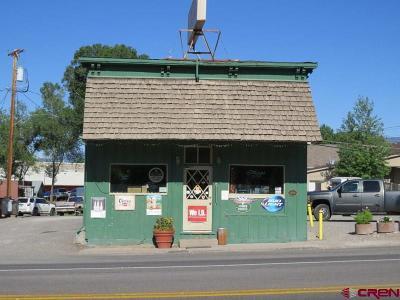 Cedaredge Commercial Back on Market: 130 N Grand Mesa