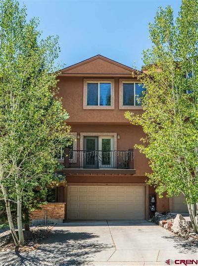 Durango Condo/Townhouse For Sale: 457 Animas View Drive #12