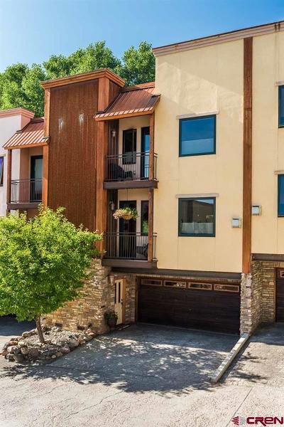 Durango Condo/Townhouse For Sale: 1422 Animas View Drive #42