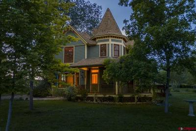 Hotchkiss, Crawford, Paonia Single Family Home For Sale: 384 Duke Hill Road