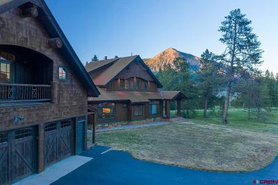 Crested Butte Single Family Home For Sale: 758 Journey's End Road