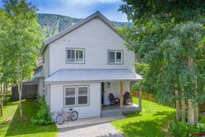 Crested Butte Single Family Home For Sale: 706 Belleview Avenue