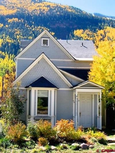 Telluride Single Family Home For Sale: 116 E Columbia Avenue