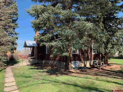 Gunnison Single Family Home UC/Contingent/Call LB: 709 N Pine