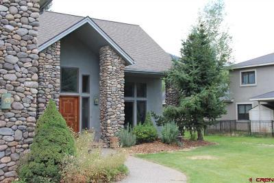 Durango Single Family Home NEW: 554 Horse Thief Lane
