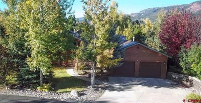 Durango Single Family Home NEW: 545 Cottonwood Creek Road