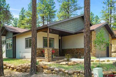 Durango Single Family Home For Sale: 256 Hay Barn Road