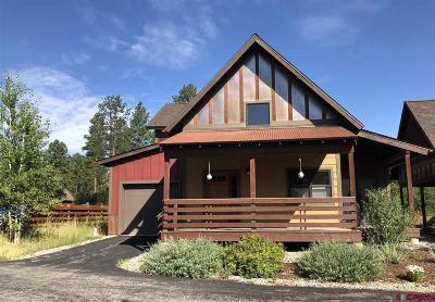 Durango Single Family Home For Sale: 126 Copper Rim Trail #D