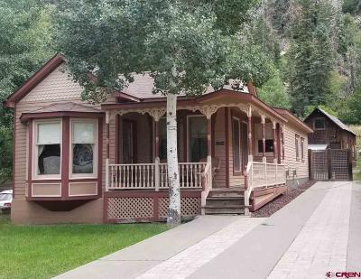 Ouray Single Family Home UC/Contingent/Call LB: 941 Main