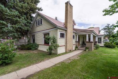 Gunnison County Single Family Home For Sale: 316 N Taylor Street