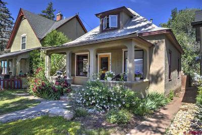 Durango Single Family Home UC/Contingent/Call LB: 615 E 4th Avenue