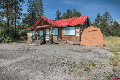 Pagosa Springs Single Family Home UC/Contingent/Call LB: 102 Pike Drive