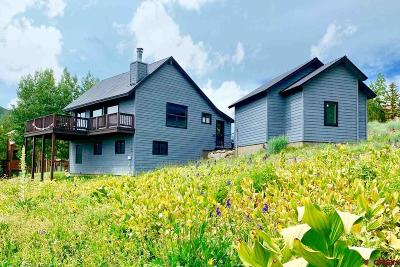 Mt. Crested Butte Single Family Home UC/Contingent/Call LB: 33 Anthracite Drive