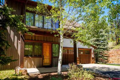 La Plata County Condo/Townhouse For Sale: 48 Royal Elk Trail