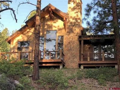 La Plata County Single Family Home For Sale: 1580 Glacier Club Drive #2
