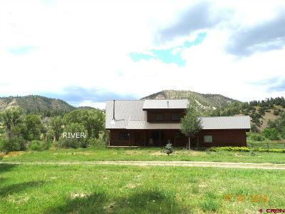 Pagosa Springs Single Family Home UC/Contingent/Call LB: 539 Rainbow Road
