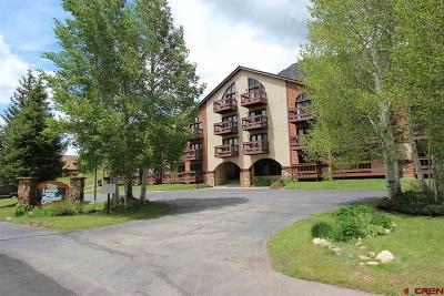 Crested Butte Condo/Townhouse For Sale: 350 Country Club Drive #308A