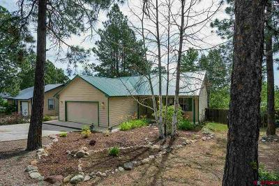 Durango Single Family Home UC/Contingent/Call LB: 73 Wood Haven Way