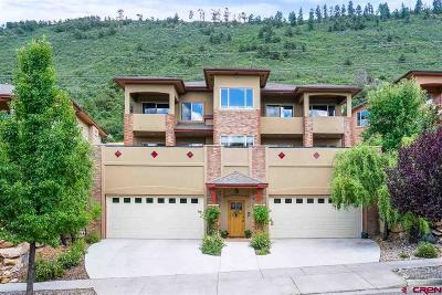 Durango Condo/Townhouse For Sale: 28 Coalbank Drive #B