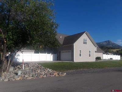 Hotchkiss, Crawford, Paonia Single Family Home For Sale: 42854 Hidden Valley Drive