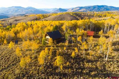 Gunnison Single Family Home For Sale: Cr 743 Road