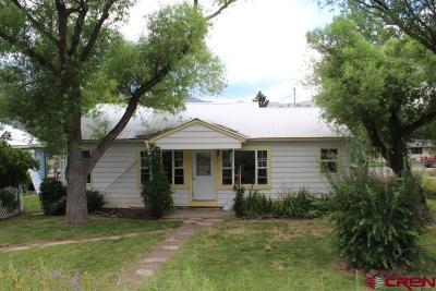 Paonia Single Family Home UC/Contingent/Call LB: 103 Dorris Avenue