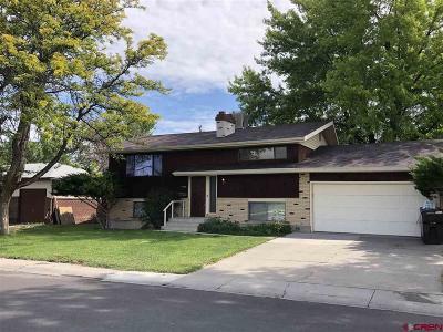 Montrose Single Family Home For Sale: 1417 S Mesa Avenue