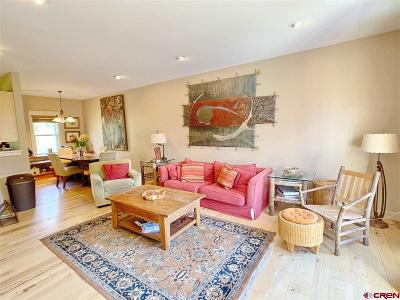Mt. Crested Butte Condo/Townhouse For Sale: 112 Big Sky Drive