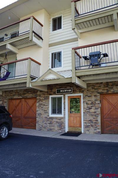 Mt. Crested Butte Condo/Townhouse For Sale: 721 Gothic Road #Unit 5,