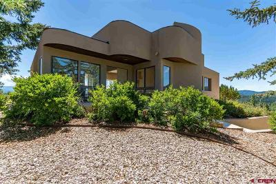 Pagosa Springs Single Family Home For Sale: 145 N Feather Court